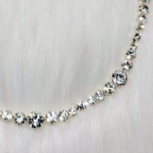 Jewelry - Designer Contemporary Rhinestone Necklace